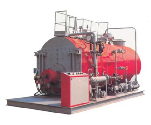 Generatore di vapore - Pressione di bollo 6-8-10-12.15 bar - 3 giri di fumo