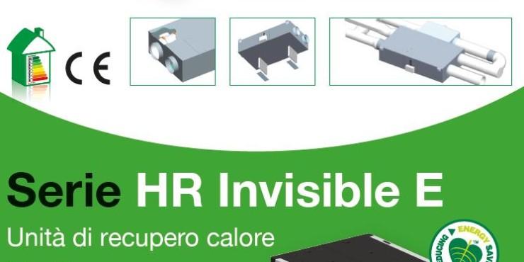 Vortice - Unità recupero serie HR Invisible